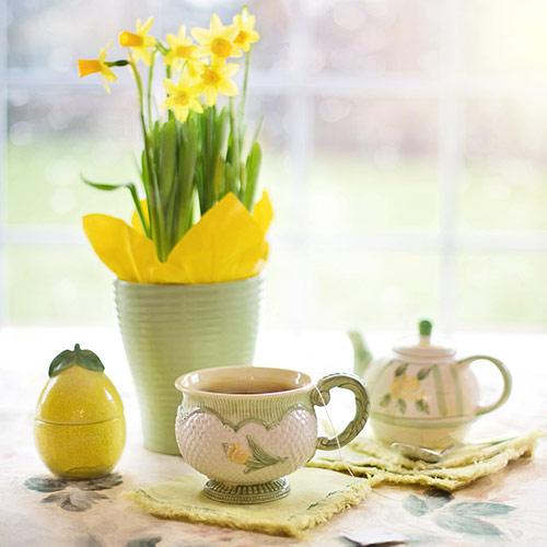 Anfertigung von Teespezialitäten