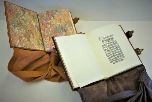 Gästebuch-Beutelbuch für die Hochzeit
