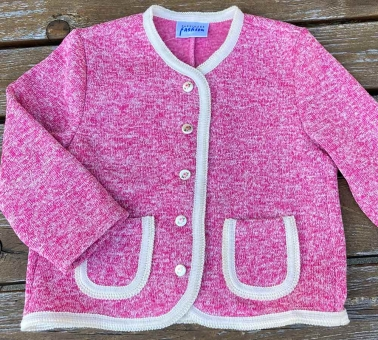 Kinder Jackerl Strick-Fleece